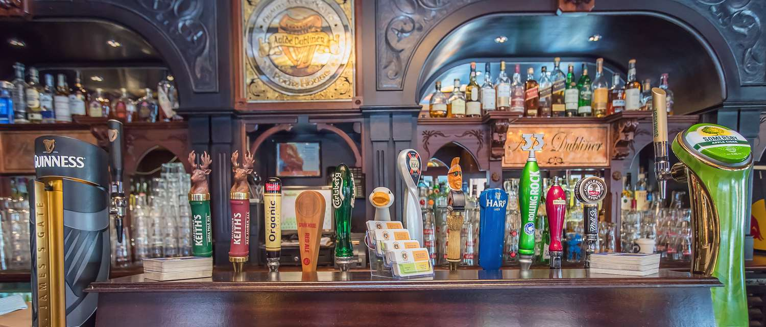 Celebrate at The Aulde Dubliner & Pour House